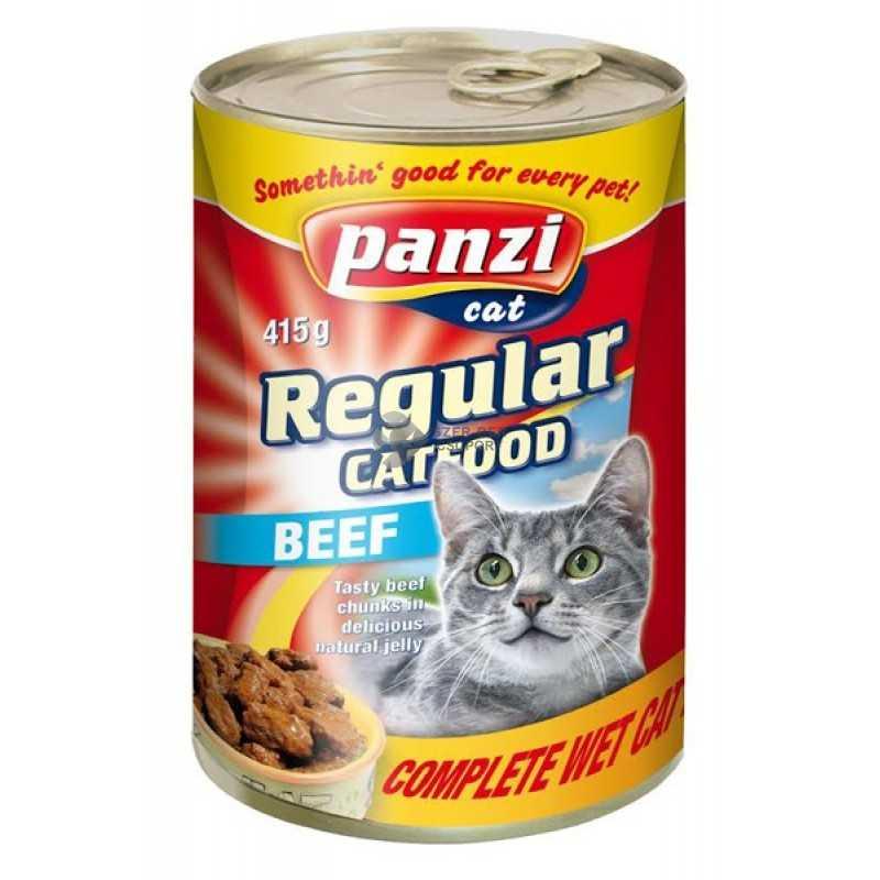 Panzi Regular marhás macskakonzerv -...