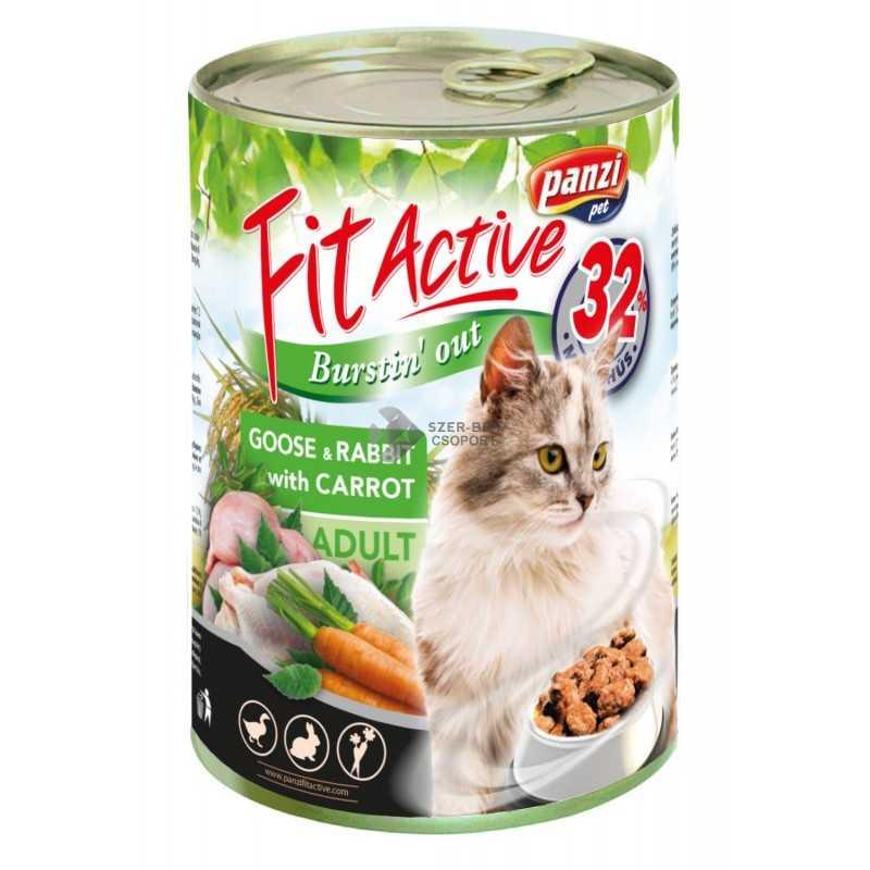 FitActive Cat GOOSE & RABBIT konzerv...