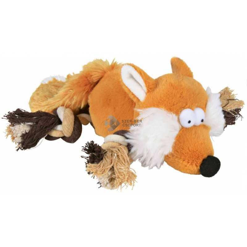 Trixie kutyajáték - sípoló plüss róka...