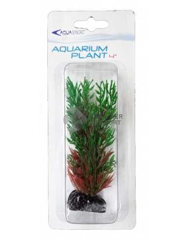 Műnövény 10cm - Aquasyncro bordó-zöld...