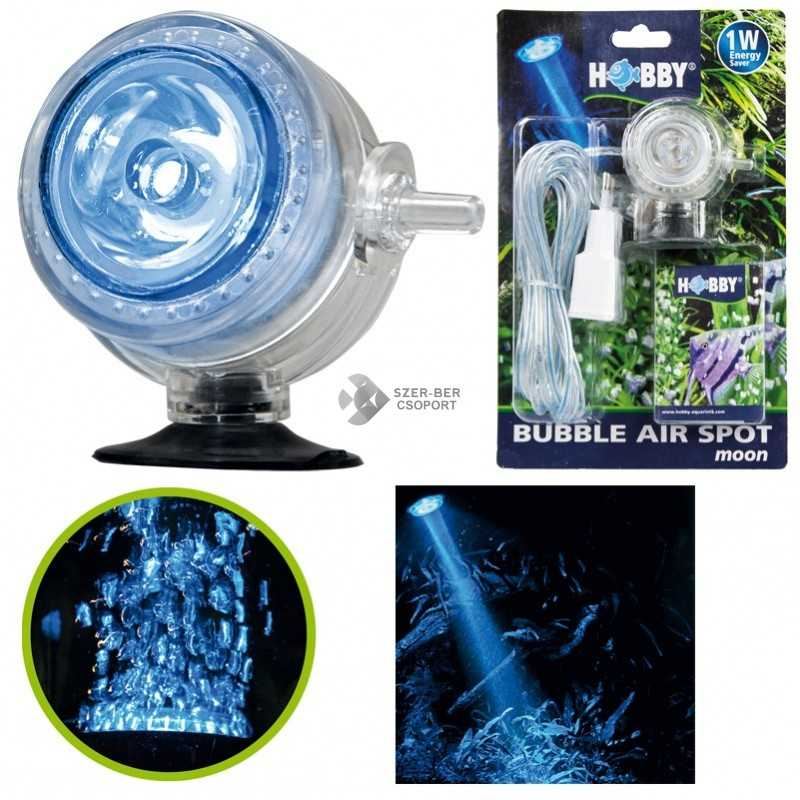 Hobby Bubble Air Spot Moon LED-es levegőporlasztó