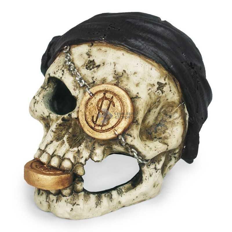 Kalóz koponya dekoráció DUKE - PSK204