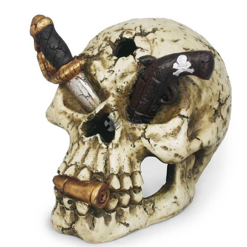 Kalóz koponya dekoráció TED - PSK205