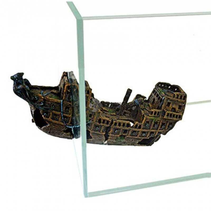 Kétrészes hajóróncs dekoráció mágneses - R155 Happet