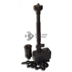 SunSun HQB-2503 vízpumpa szökőkút fejszettel